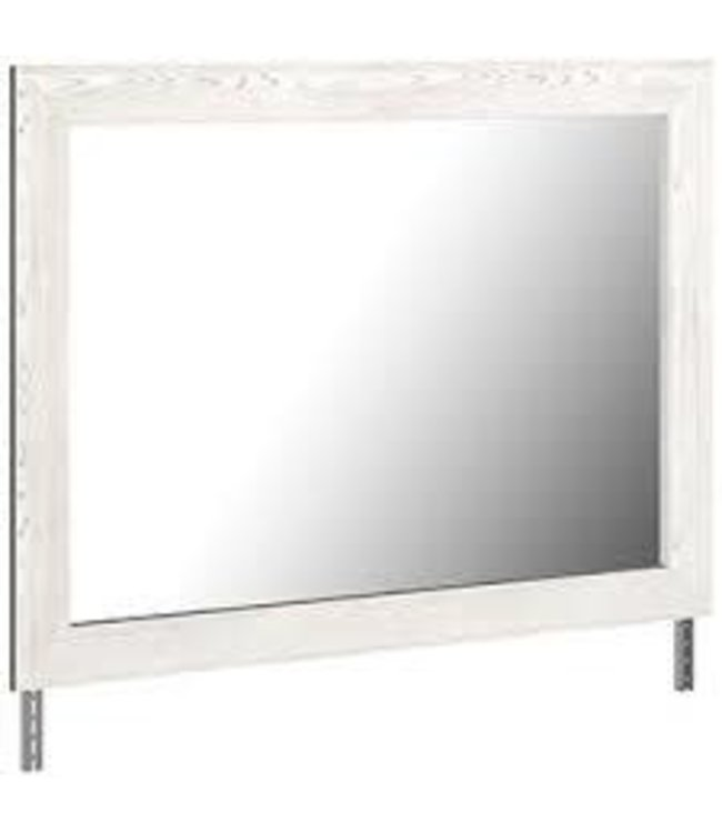 ASHLEY GERRIDAN MIRROR IN WHITE/GRAY
