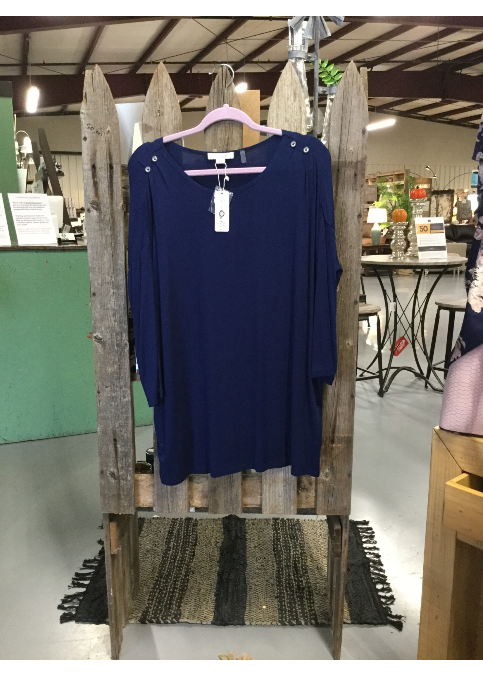 SIMPLY NOELLE BAMBOO ALL DAY ASSORTED TUNIC S/M