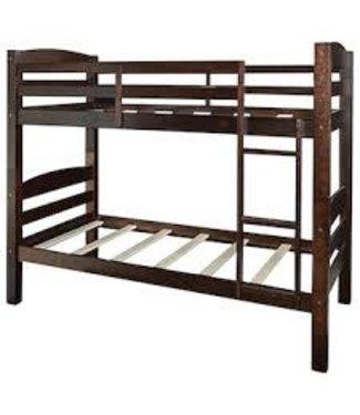 POWELL PORTER BUNK BED IN ESPRESSO