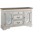 ASHLEY REALYN DINING ROOM SERVER IN CHIPPED WHITE