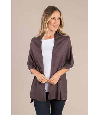 SIMPLY NOELLE HEATH CARDIGAN WRAP IN ASSORTED COLORS