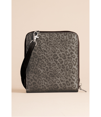 GANZ LUXE ASSORTED LEOPARD CROSSBODY