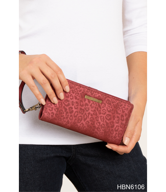 GANZ LUXE ASSORTED LEOPARD WALLET