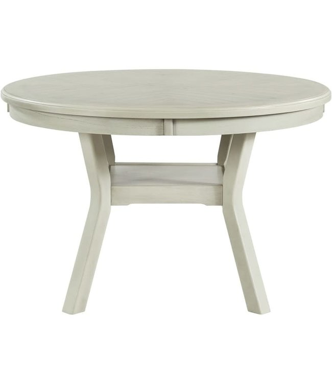 ELEMENTS AMHERST DINING TABLE IN WHITE