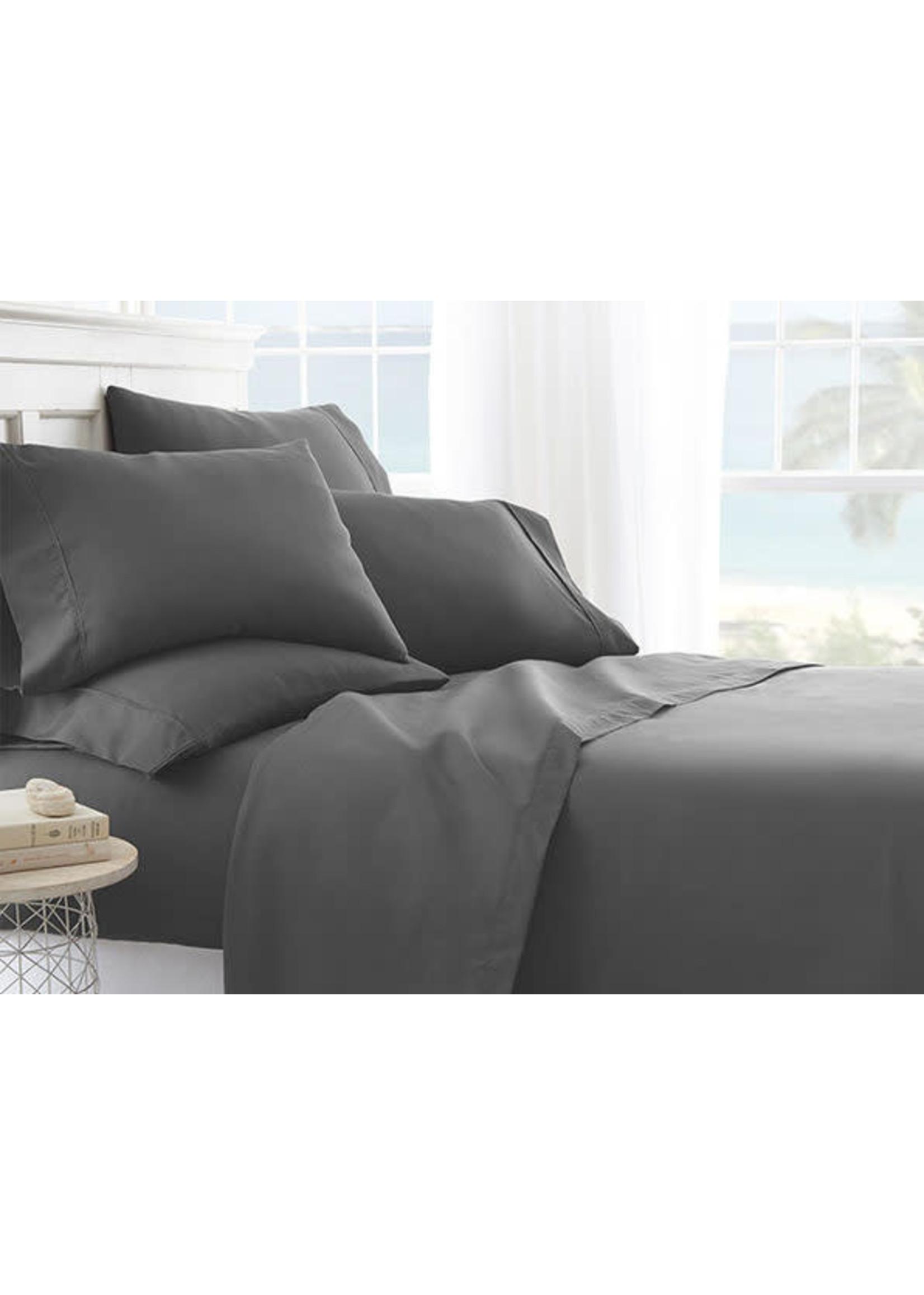 IENJOY HOME KING SIZE ULTRA SOFT 4 PIECE BED SHEET
