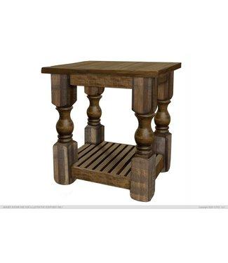 IFD MAYA CHAIR SIDE TABLE MIXED SOLID WOOD