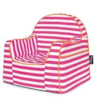 P'KOLINO LITTLE READER CHAIR WITH PINK STRIPES