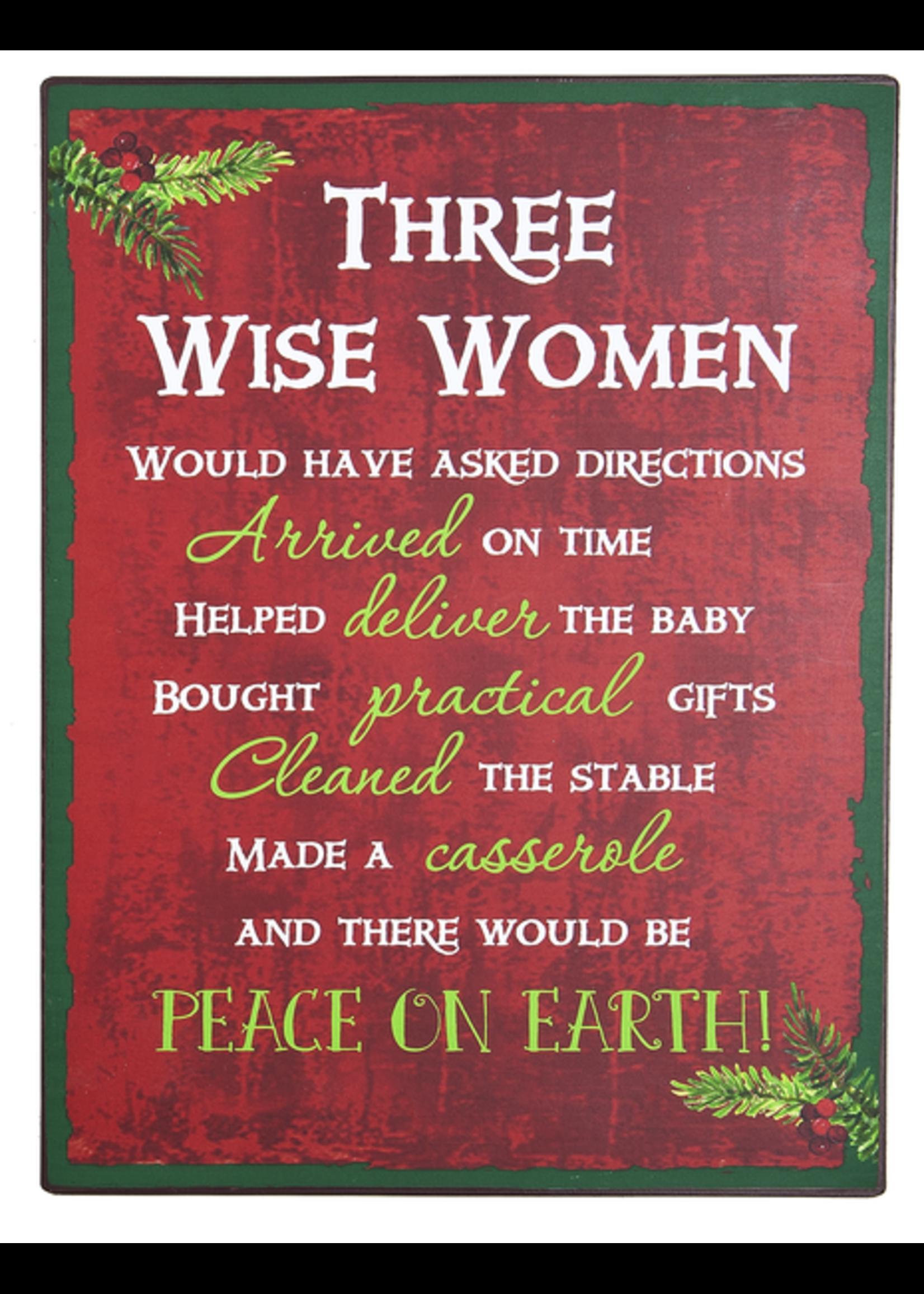 """GANZ """"THREE WISE WOMEN"""" PLAGUE"""