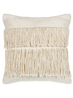 GANZ COTTON PILLOW WITH FRINGE