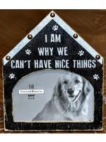 GANZ 4X6 DOG HOUSE PHOTO FRAME