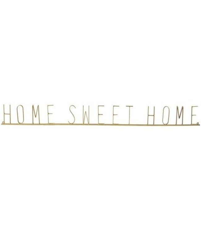 "GANZ ""HOME SWEET HOME"" RIBBON METAL WALL DECOR"