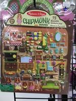 9101 PUFFY STICKERS-CHIPMUNK HOUSE