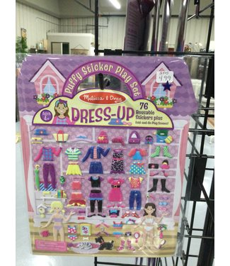 2195 puffy sticker play set dress up
