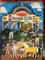9410 PUFFY STICKER ACTIVITY BOOK - RIDING CLUB