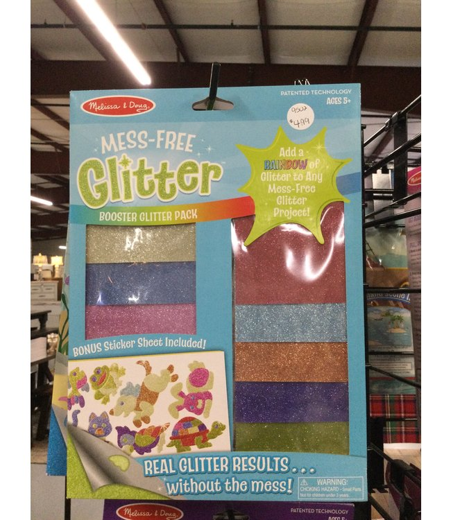 9502 Mess free glitter booster glitter pack