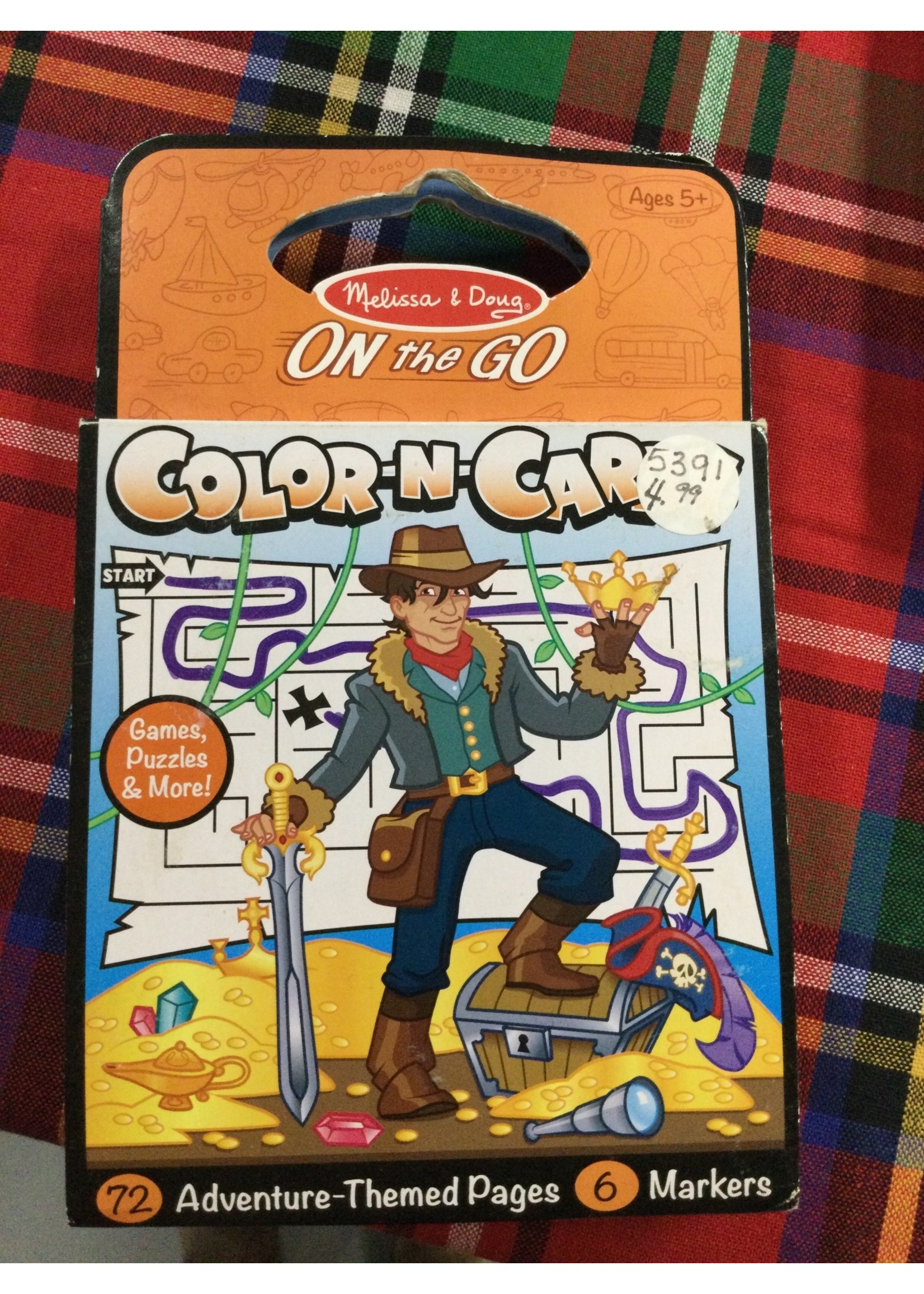 5391 COLOR N CARRY ADVENTURE