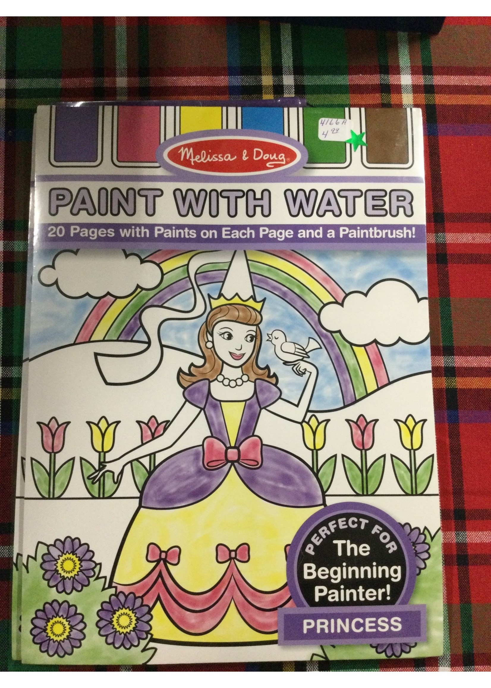 4166A PAINT WITH WATER-PRINCESS