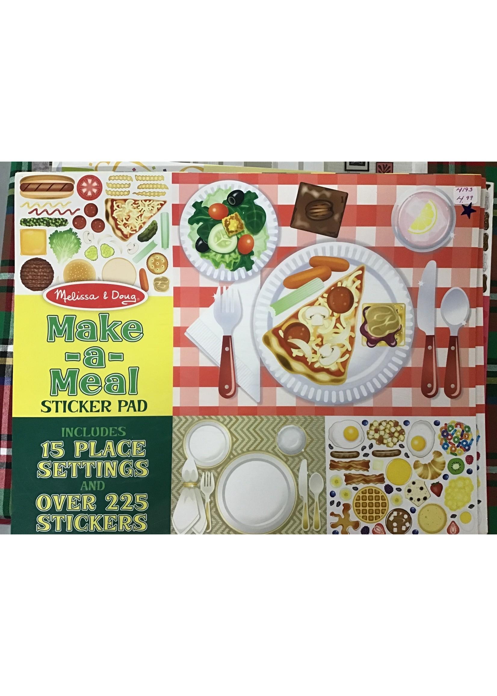 4193 MAKE-A-MEAL STICKER PAD