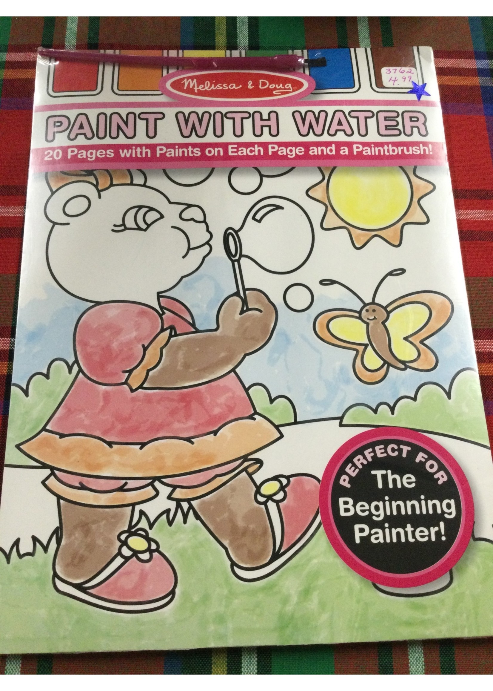 3762 PAINT WITH WATER-PINK