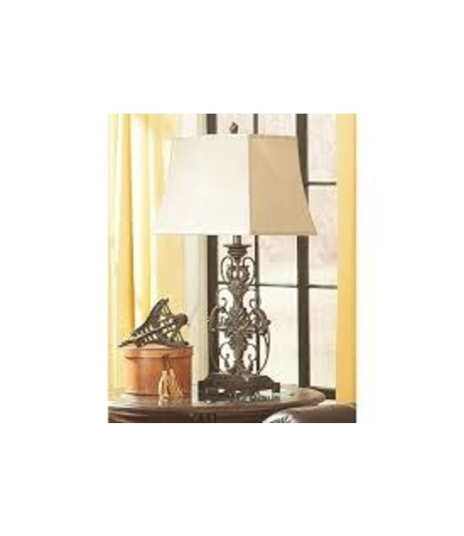 ASHLEY L200064 TABLE LAMP POLY SALLEE
