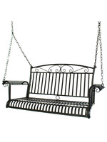 KINGSTON CASUAL FRENCH QUARTER SWING BLACK HAMMERED SILVER