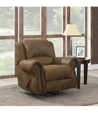 COASTER 650153 SWIVEL ROCKER RECLINER SIR RAWLINSON BROWN