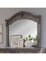AMERICAN WDCRFT HEIRLOOM  MIRROR WIRE BRUSHED CHARCOAL