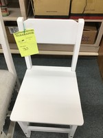 YOUTH WOODEN CHAIR WHITE
