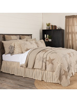 VHC QUEEN STAR SAWYER MILL CHARCOAL QUILT
