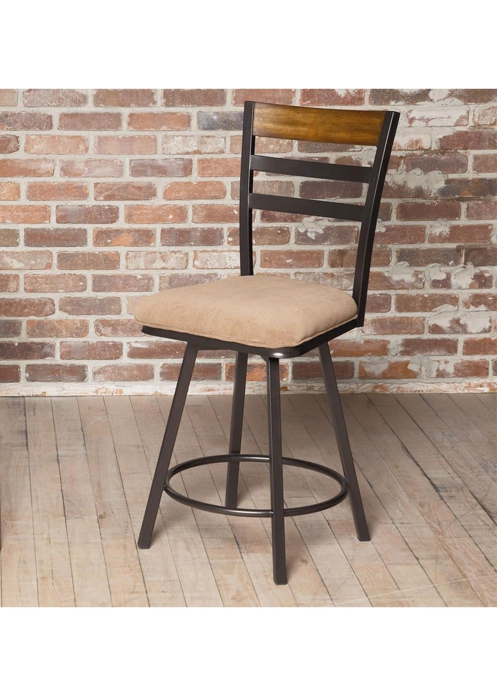 LARGO TEMPO SWIVEL COUNTER HEIGHT CHAIR