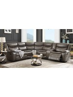 ACME TAVIN 3 PC RECLINING SECTIONAL TAUPE