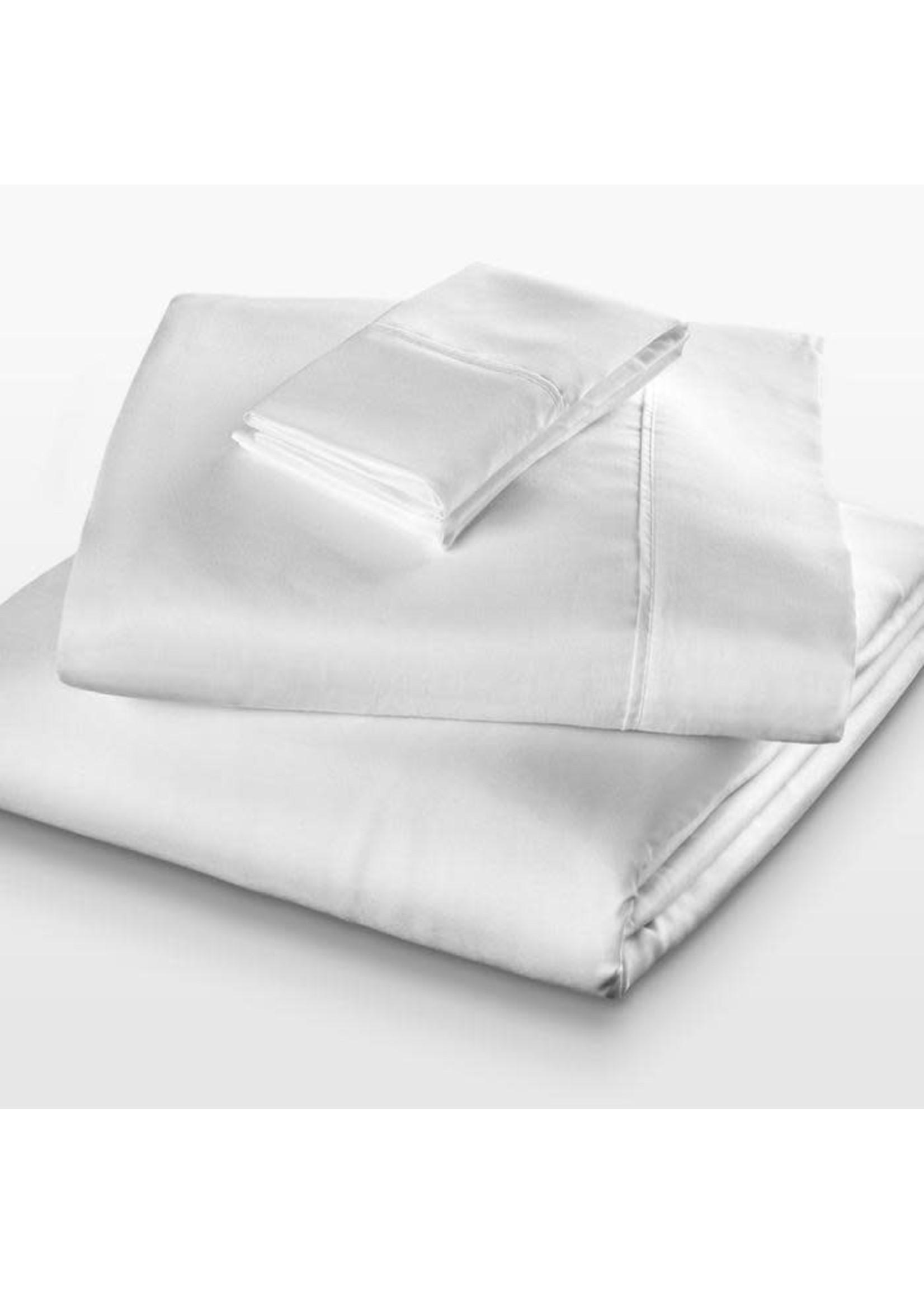 PURECARE MICROFIBER LITE SHEET SET TWIN WHITE