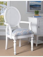 POWELL AVERY ACCENT CHAIR WHITE
