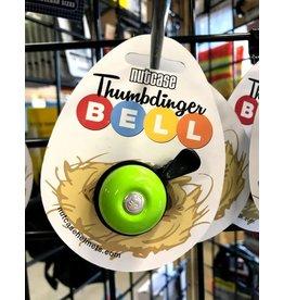Nutcase Nutcase Thumbdinger Bell, Goofy Green