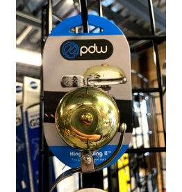 PDW Portland Design Works King Of Ding II Bell: Brass