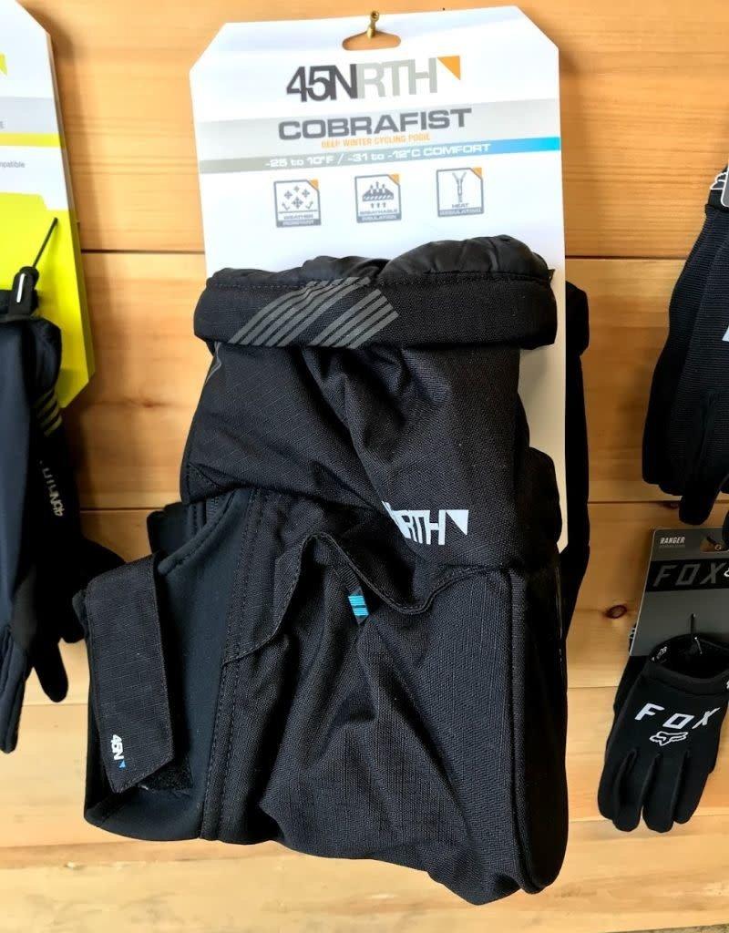 45NRTH 45NRTH Cobrafist Pogies: Black, One Size