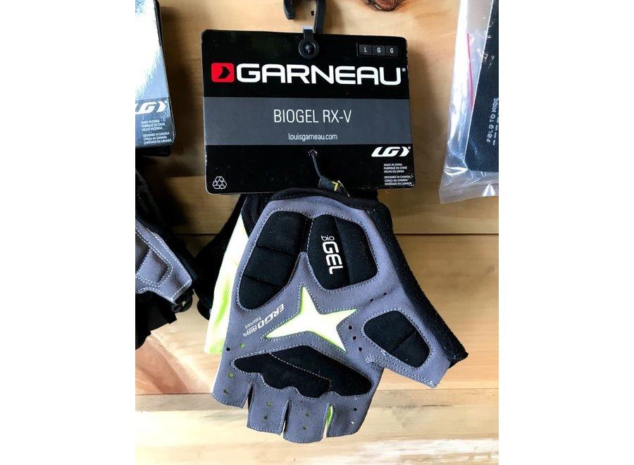 Garneau Biogel RX-V Gloves - Bright Yellow, Short Finger, Men's, Large