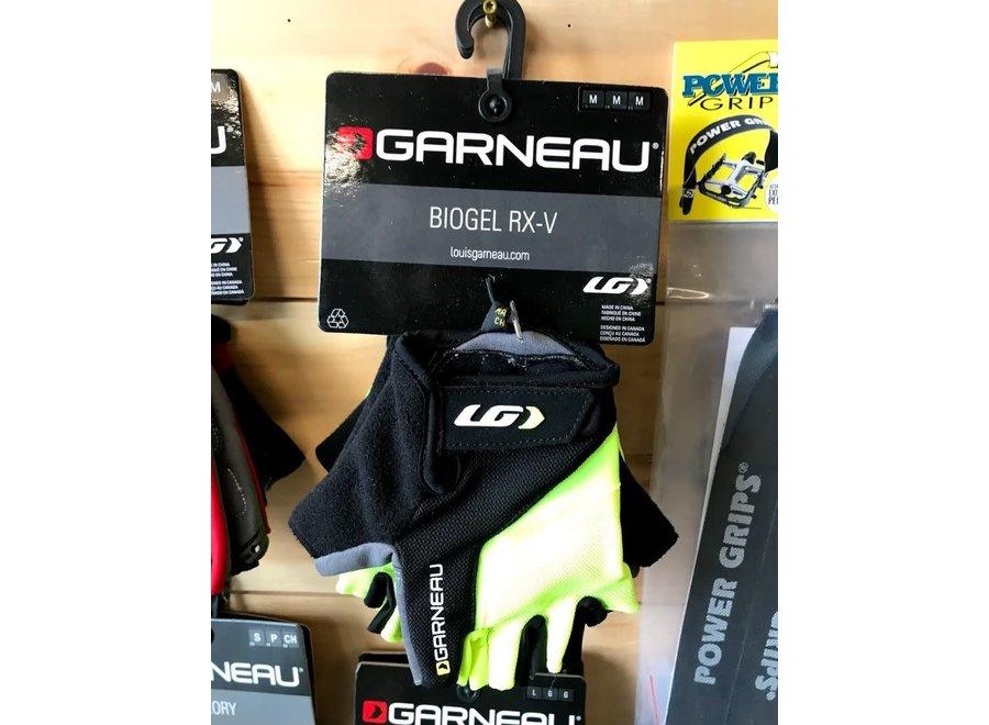 Garneau Biogel RX-V Gloves - Bright Yellow, Short Finger, Men's, Medium