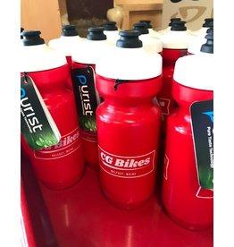 CG Bikes Logo Water Bottle
