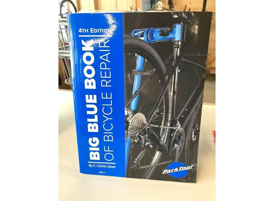 Park Tool BBB-4, Big Blue Book of Bike Repair, 4th Edition