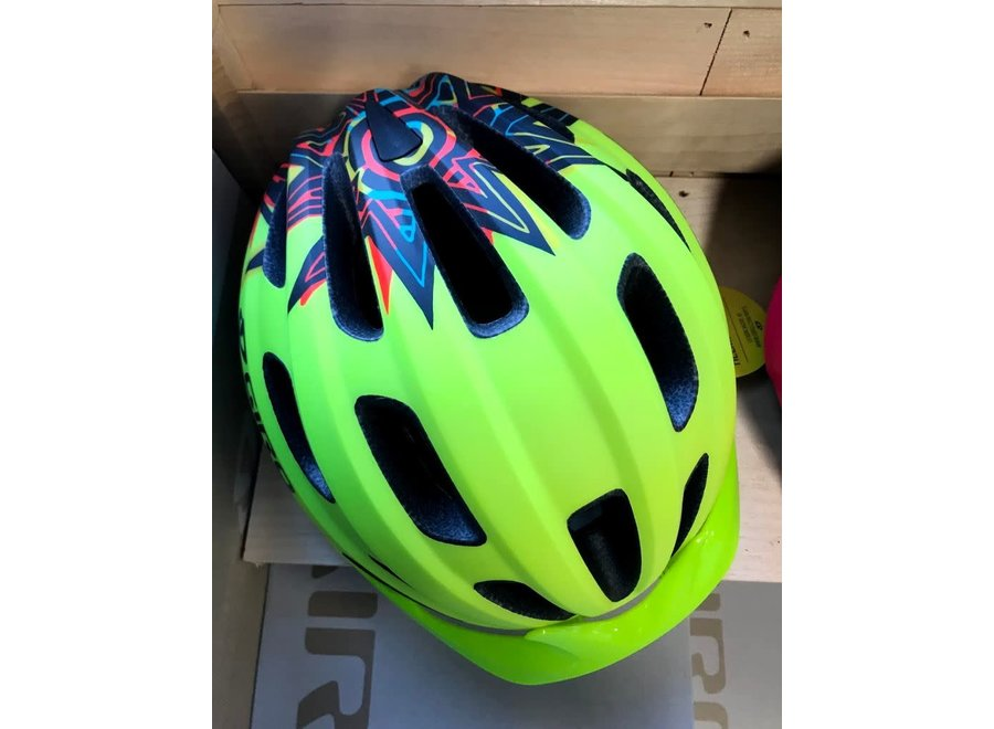 Giro Cycling Hale MIPS Youth Helmet - Matte Lime (Size UY)