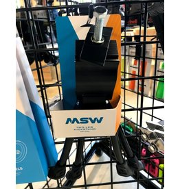 MSW MSW KS-300 Two-Leg Kickstand with Top Plate, Black