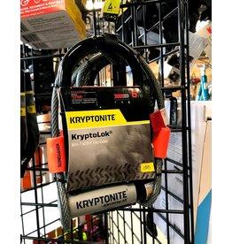 Kryptonite Kryptonite KryptoLok U-Lock - 3.25'' x 7'', Keyed, Black, Includes 4' cable and bracket