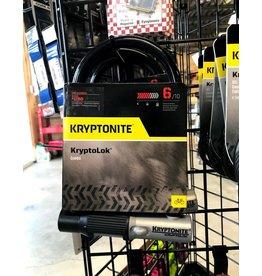 Kryptonite Kryptonite KryptoLok U-Lock, 4'' x 8'', Combination, Black, Includes Bracket