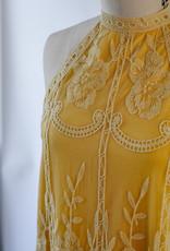 Wild Honey Lace Halter Dress