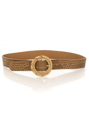 Brown Gator Belt