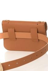 Brown Western Belt Bag