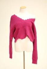 Bella Distressed Sweater