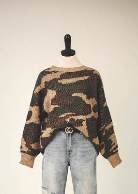 Army Chic Sweater
