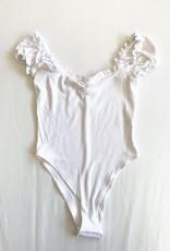 Ruffle Sleeve Bodysuit
